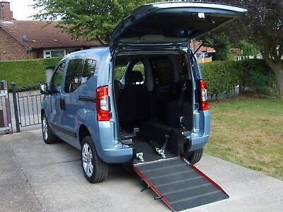 Fiat Qubo Wheelchair Accessible Vehicle Wav Disabled Access Mobility Scooter Car