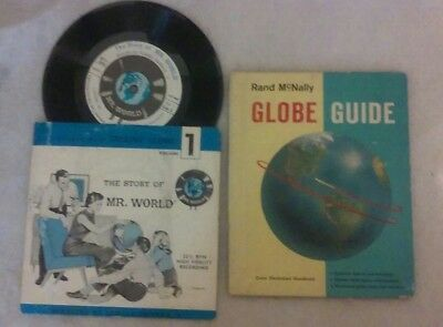 The Story Of Mr. World 1962 & Rand McNally Globe Guide 1960