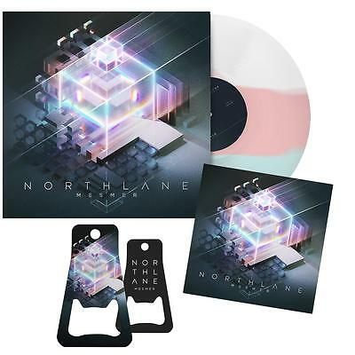 NORTHLANE - Mesmer - 1LP Ltd.Ed. Ultra Clear/Pink/Blue Vinyl + Sticker & Opener!