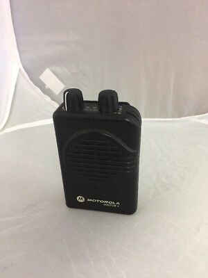 Motorola Minitor V Pager UHF 450 - 457.9875 MHz Pager with Battery No Charger