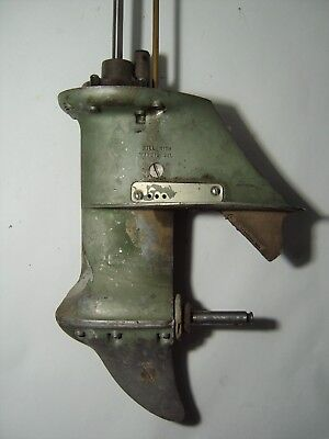 Vintage Johnson Outboard 5.5Hp Cd-10 Lower Unit