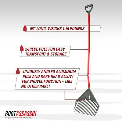 RAKE ASSASSIN By Root Assassin (We are the manufacturer-other just resell used)