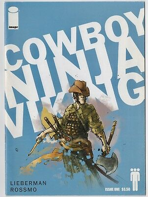 Cowboy Ninja Viking #1 2009 Image Comics VF bag and board