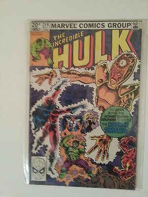 Incredible Hulk Issue 259: VF