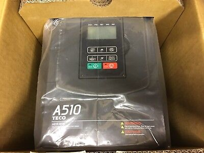 Teco Ac Drive A510-4010-C3-U Frequency Inverter Open Box Appears New