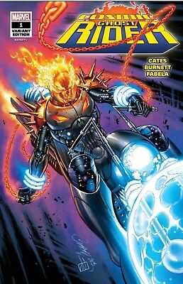 Cosmic Ghost Rider #1 Glow In The Dark SDCC 2018 Signed By J Scott Campbell