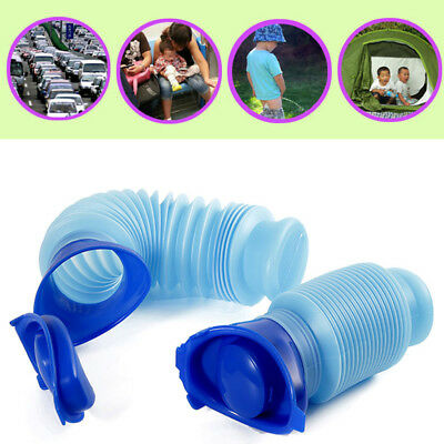 Emergency Urinal Portable Shrinkable Potty Pee Bottle Outdoor Travel Kids Adult