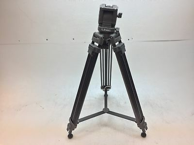 Libec TH-950DV 2-Stage Aluminum Tripod System MISSING ARM LEVER - GOOD CONDITION