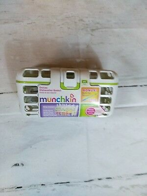 Munchkin Deluxe Dishwasher Basket container baby bottle cleaner
