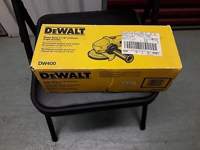 """DeWalt Angle Grinder 4.5"""" (4 1/2"""") model WD400 with box and all it came with."""