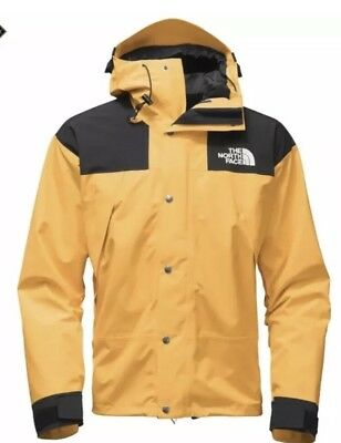 ... nuptse leather jacket yellow size xlarge size us 87340 1a7e7  cheap the  north face 1990 mountain jacket gtx gore tex yellow mens m brand new supreme ab4c85211