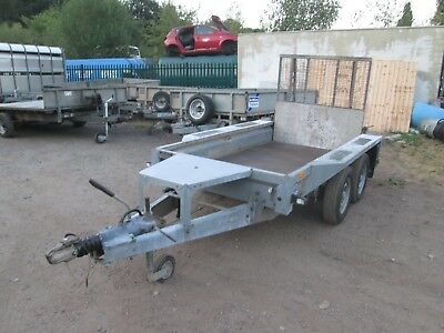 Ifor Williams Gx 84 Mini Digger / Plant Trailer