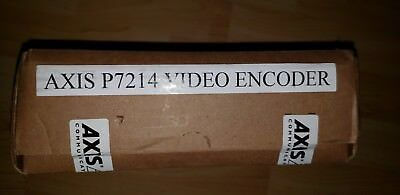 AXIS 0417-004 P7214 High Performance 4-Channel Video Encoder
