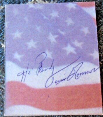 Tim O Connor-M.a.s.h/ Twilight Zone /star Trek  Signed/autographed Cut