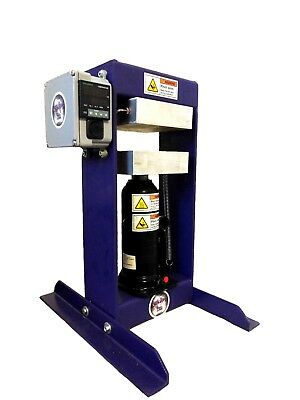 The Original Purple Power Rosin Press Heated Dab Oil Extraction 6 ton ram
