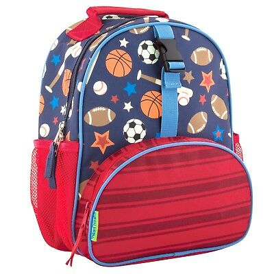 Stephen Joseph Boys All Over Print Mini Sports Backpack - Book Bag