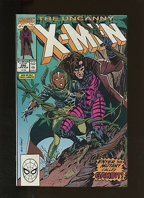 Uncanny X-Men 266 FN/VF 7.0 * 1 Book * Gambit 1st Full Appearance! Claremont!