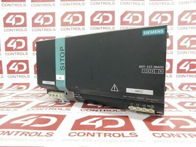 Siemens 6EP1 437-3BA00 SITOP Modular 40 Stabilized Power Supply - Used
