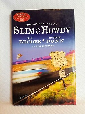 AUTOGRAPHED Adventures of Slim & Howdy BROOKS and DUNN (Hardcover)