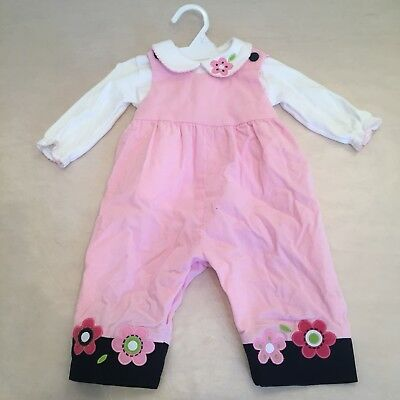Florence Eiseman super cute pink floral outfit - 6 Months / Get Ready For Fall!