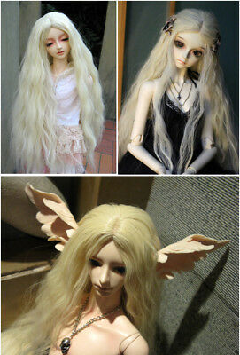 1/3 1/4 BJD/ Doll Wig High Temperature Long Fashion Curly For BJD Hair Wig new