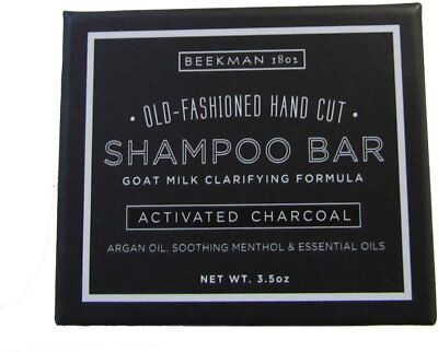 Activated Charcoal Shampoo Bar, Beekman 1802, 3.5 oz