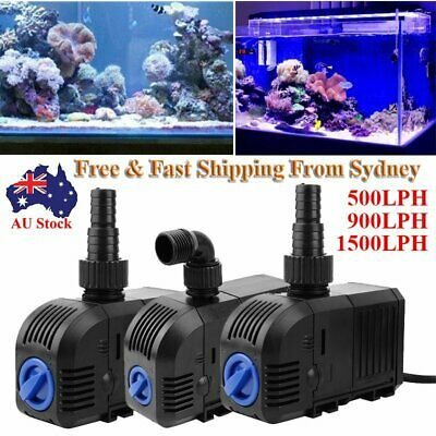 AU 1100 1500 LPH Submersible Water Pump Aquarium Fish Tank Pond Marine Fountain