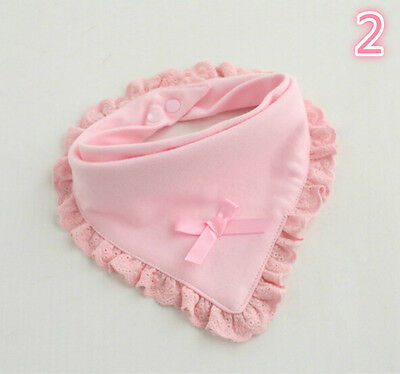 Newborn Toddler Cotton Baby Bibs Boy Girl Saliva Towel Kids Bib Feeding UK.