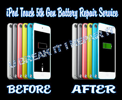 iPod Touch 5th Generation Battery Repair Replacement Service