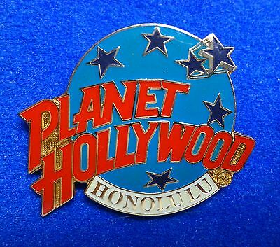Honolulu Hawaii Planet Hollywood Movie Restaurant Blue Planet Stars Logo PH Pin