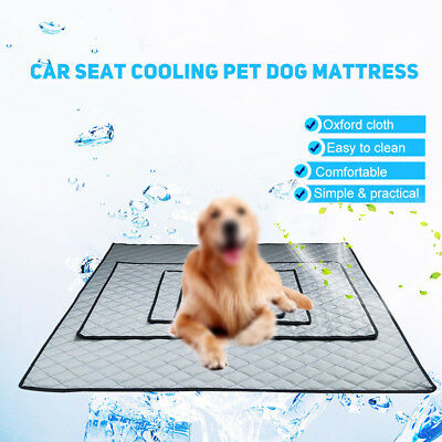 Summer Car Seat Cooling Pet Dog Cat Mattress Pad Easy Clean Durable Mat Cushion