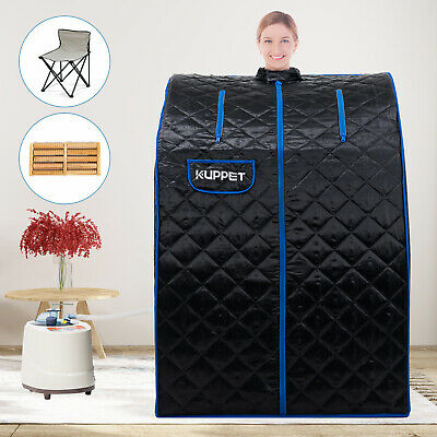 Home Steam Sauna Spa Full Body Slimming Loss Weight Detox Indoor Therapy 2L