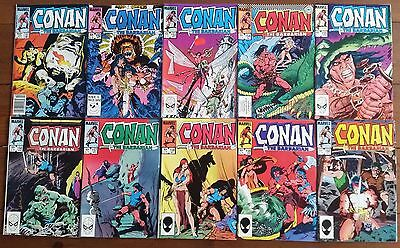 10x CONAN THE BARBARIAN no. 151-160, Marvel Comics, 1983/84, individually graded