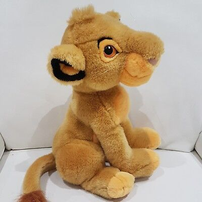 New Large The Lion King Simba Soft Toy rare