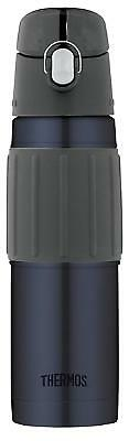 Thermos Vacuum Insulated Stainless Steel Hydration Bottle 18ounce Midnight Blue