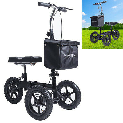 All-Road Steerable Knee Scooter Knee Walker Crutches Alternative for Adults USA