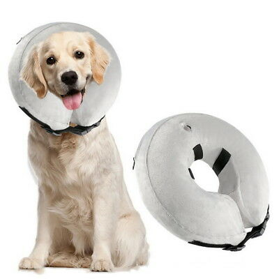 Inflatable Dog Protective Collar Pet Wound Healing Necklace Health Care Supplies
