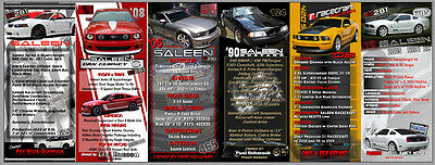 Car Show Display Sign Board Replacements