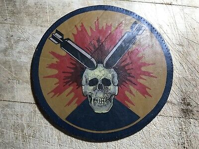 WWII WW2 US ARMY AIR FORCE PATCH-766th Bombardment Squadron-ORIGINAL LEATHER!