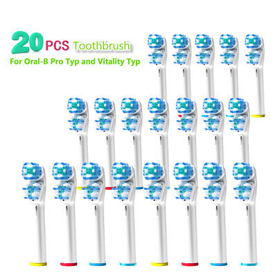 20 PCS Toothbrush Heads Replacement for Electric Tooth Brush Vitality B6