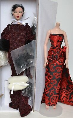 """Tonner Emma Jean's Dripping In Drama 16"""" Dressed Doll + Grand Entrance Outfit"""