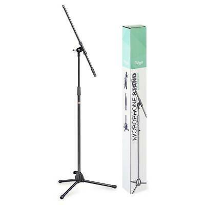 Stagg 0822BK Heavy Duty Professional Microphone Folding Boom Stand