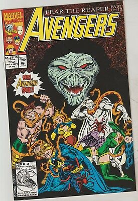 *** Marvel Comics Avengers #352 Vf ***
