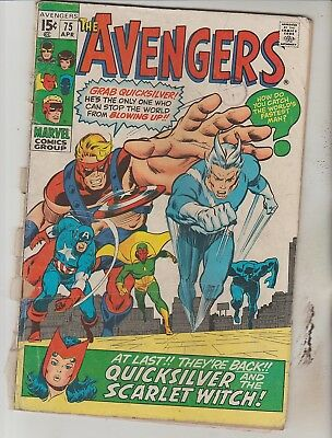 *** Marvel Comics Avengers #75  Fair ***