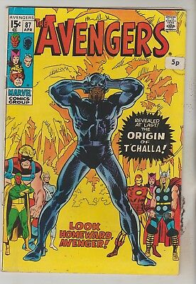 *** Marvel Comics Avengers #87  F ***