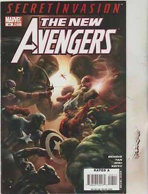 *** Marvel Comics New Avengers #43 Vf ***