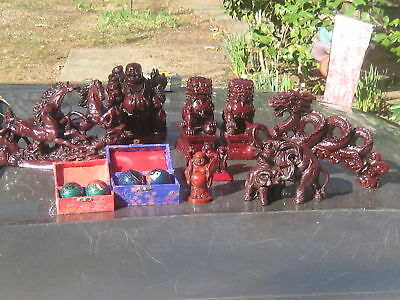 Wholesale Lot Of Asian Red Dragon Figurines Atlanta Metro.pick Up Only