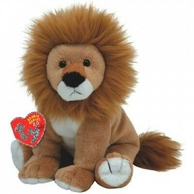 Beanie Babies Midas Lion. Ty. Delivery is Free