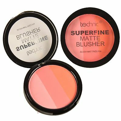 Technic Superfine Matte Blusher Multi Shade Shine Control Blush Pressed Powder