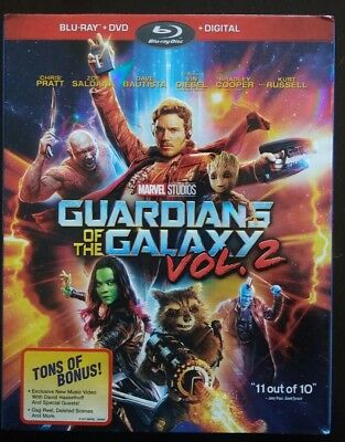 Guardians of the Galaxy Vol. 2   MARVEL STUDIOS  BR + DVD + Digital HD